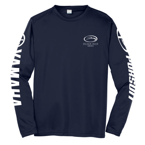 Ocean Blue Yacht - Service Dri-Fit Long Sleeve (Co-Branded) - 72 qty