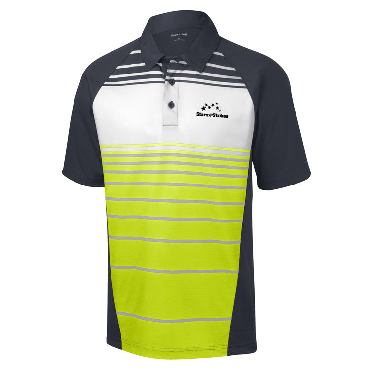 Dri-Fit Stripe Polo (6 Color Options)