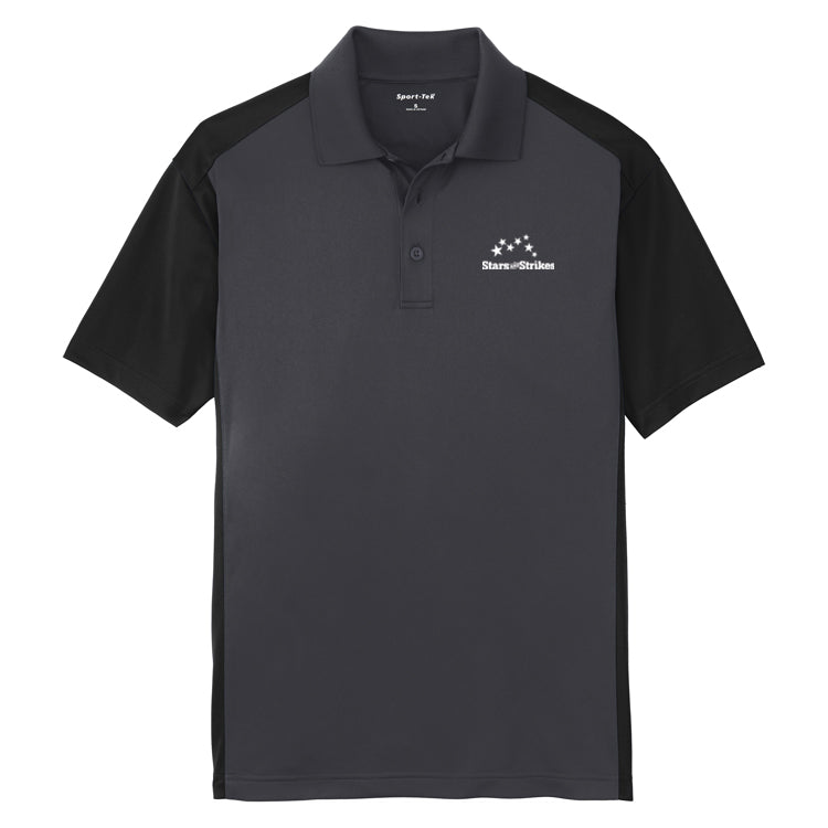 Mens Colorblock Micropique Sport-Wick® Polo (7 Color Options)