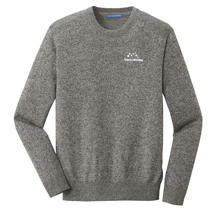 Marled Crew Sweater (2 Color Options)