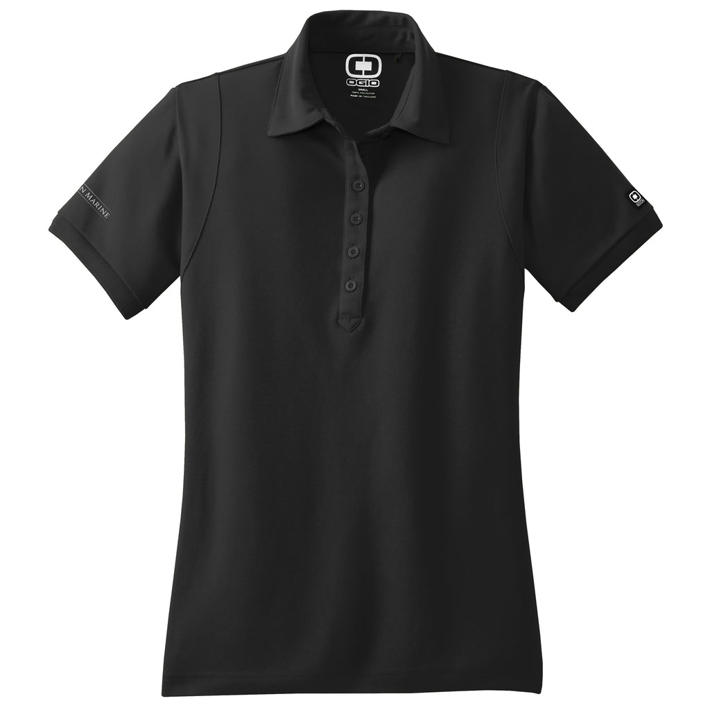 Singleton - Sales Polo OGIO Black (Women's) - 8 qty