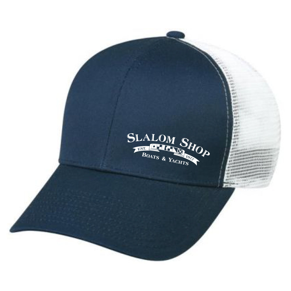 Slalom Shop - Retail Snapback Hat - 72 qty