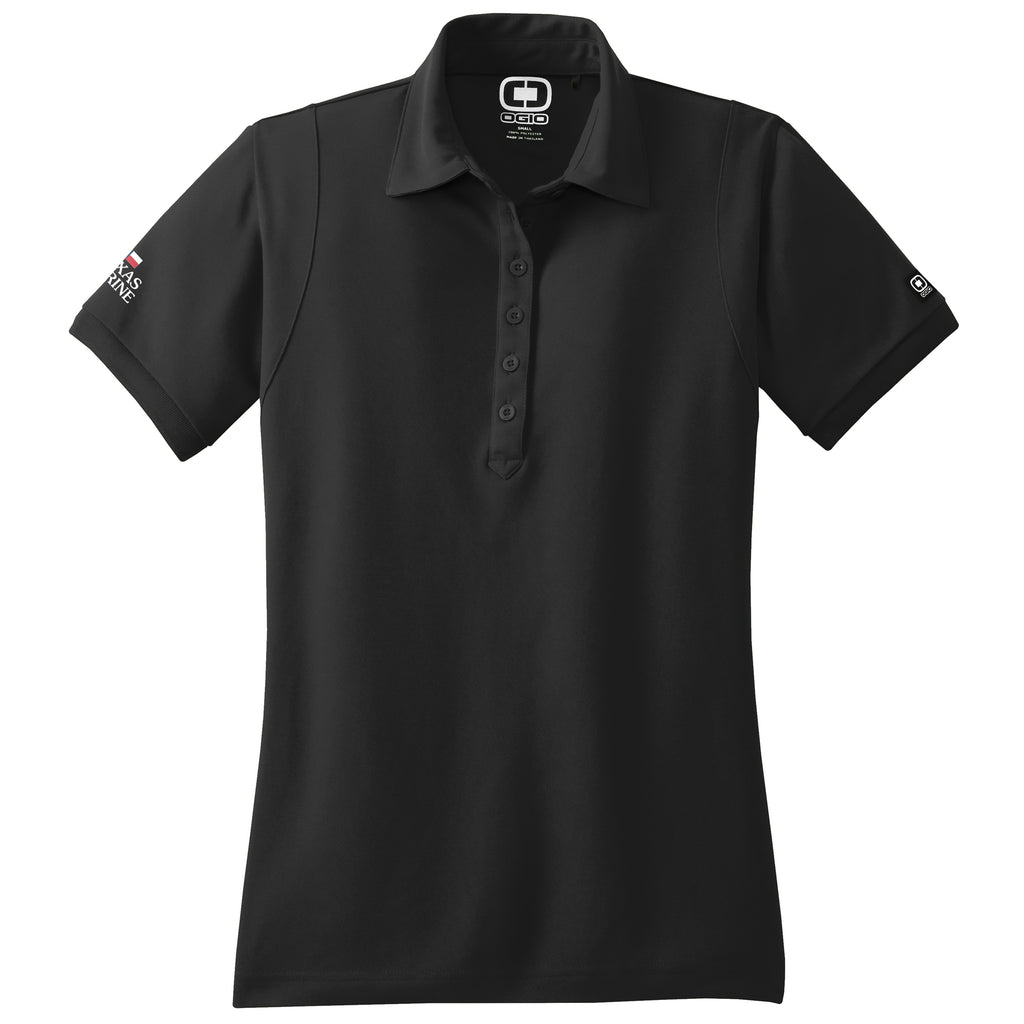 Texas - Sales Polo OGIO Black (Women's) - 8 qty