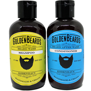 Beard Wash Set ( Skäggschampo + Skäggbalsam (Conditioner) )