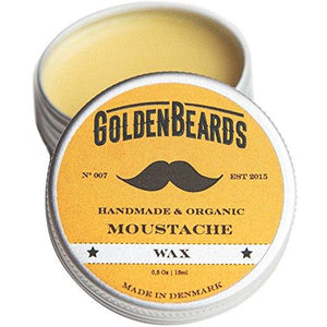Moustache Wax + Kent 87T Folding Comb