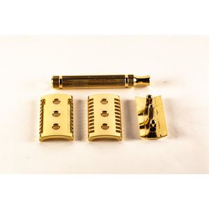 Golden Shave Handmade Safety Razor - Double Head -