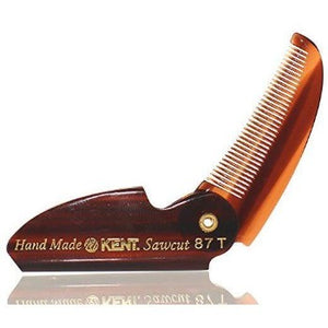 Limited Edition Kent 87T Folding Beard & Mustache Comb