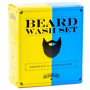 Beard Wash Set (Conditioner + Shampoo)