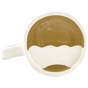 HANDMADE MOUSTACHE GUARD MUG (330 ML / 11 OZ)