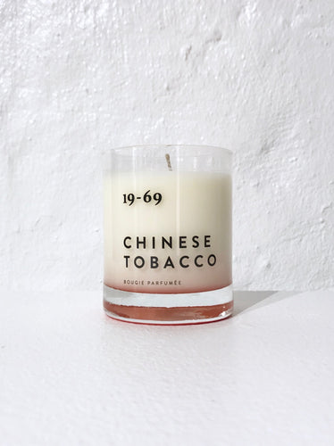 19-69  CHINESE TOBACCO CANDLE