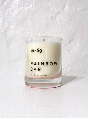 19-69  RAINBOW BAR CANDLE