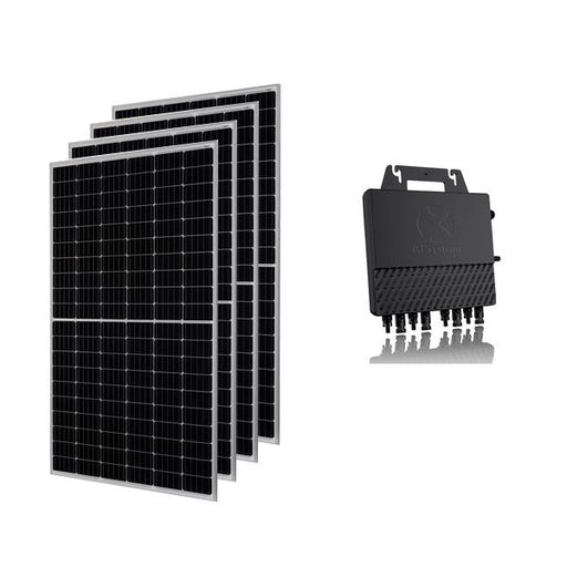 Kit solar autoconsumo 1340 W Plug & Play