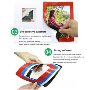 Creative Nail-free Magnetic Photo Frame