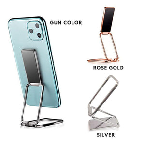 360° Square Rotation Portable Metal Phone Holder (49% OFF)