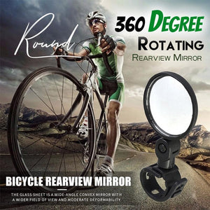 360 Degree Rotating Rearview Mirror