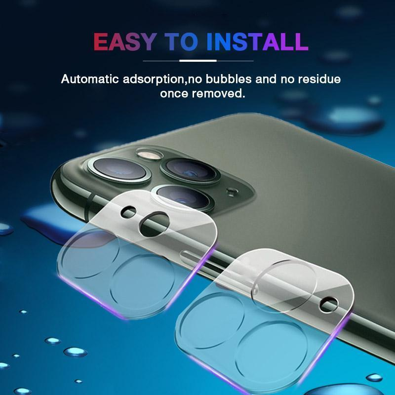 Christmas promotion-50%OFFClear Back Camera Tempered Glass for iPhone 12
