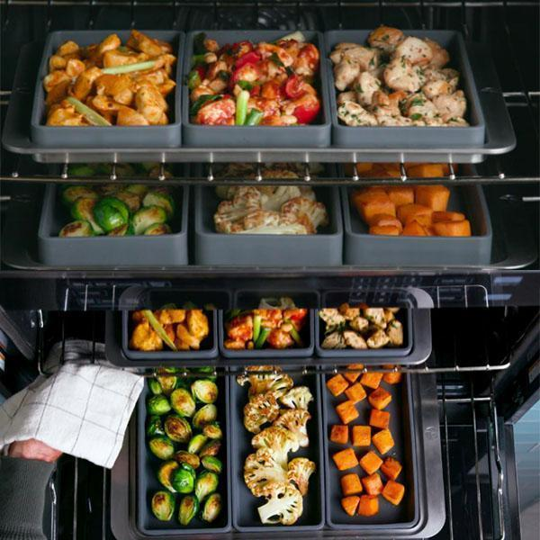 Versatile Grid Cooking Dividers(1SET) - Buy more and save more!!