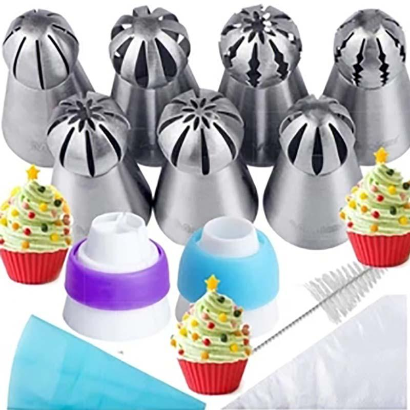 Cake Decor Piping Tips(7 PCS)