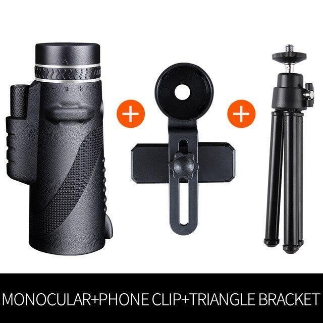 2020 New High-resolution Waterproof Monocular Telescope