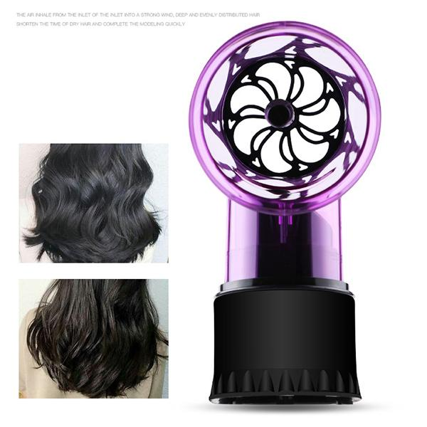 Hair Dryer Spin Roller Curls Diffuser