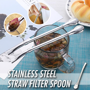 Stainless Steel Double Ring Suction Spoon