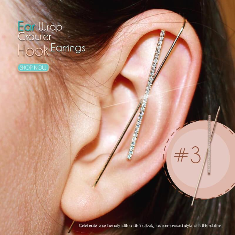 (50% OFF)Ear Wrap Crawler Hook Earrings(Single)