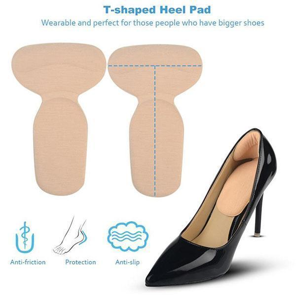 T-Shaped Heel Cushion