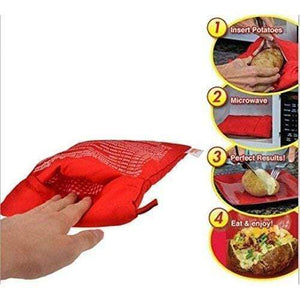 Microwave Potato Cooker Bag (2 PCS)