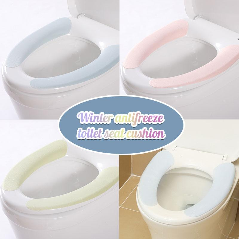 Winter antifreeze toilet seat cushion