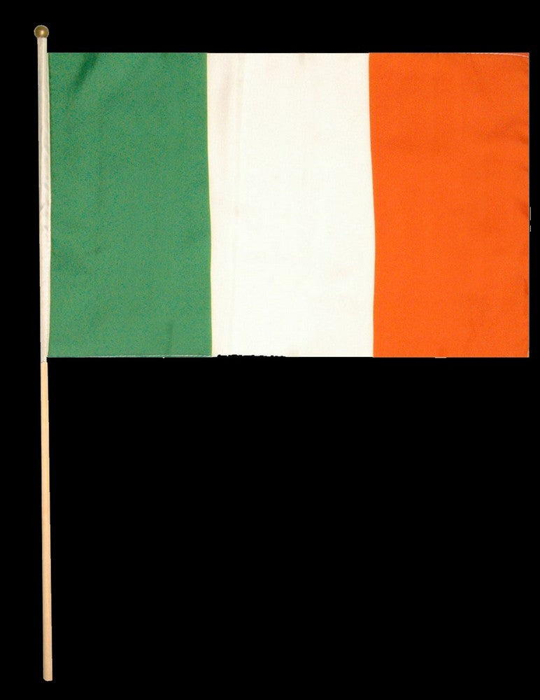 St Patrick's Day Waving Flag