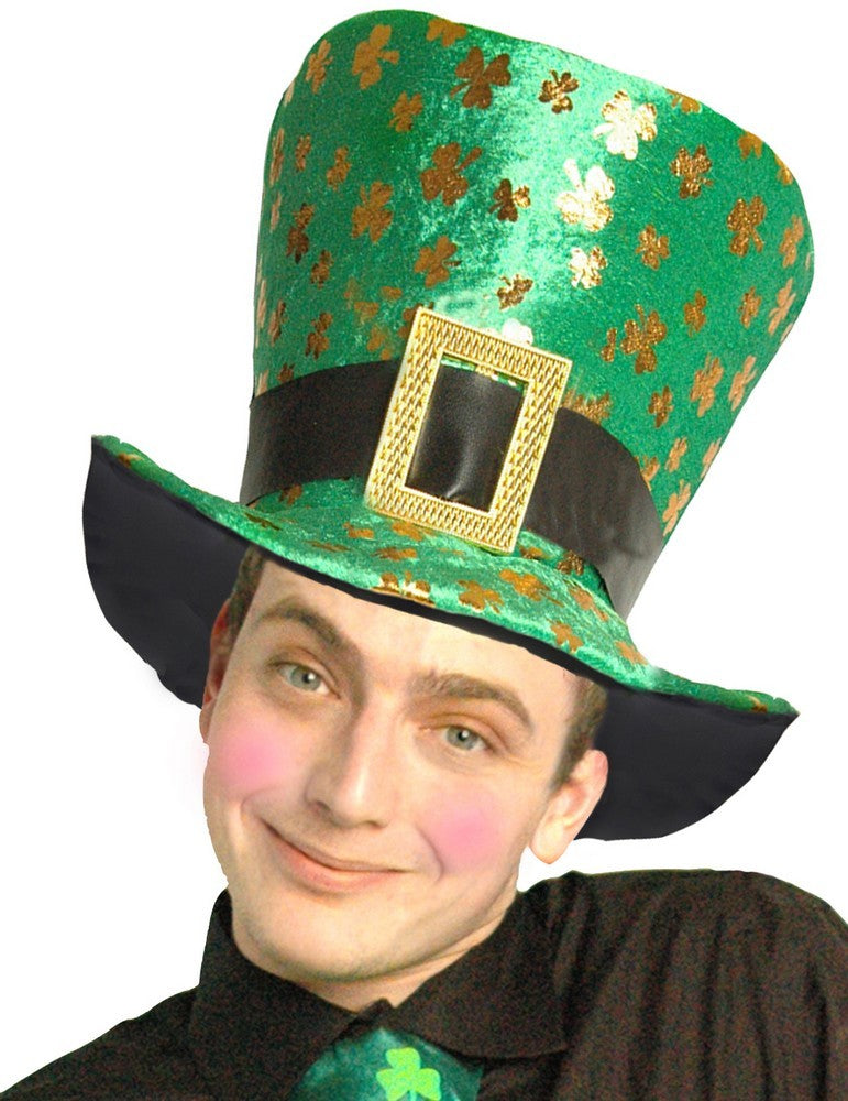 St Patrick's Day Shamrock Hat