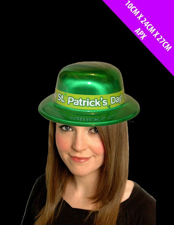 St Patrick's Day Bowler Hat