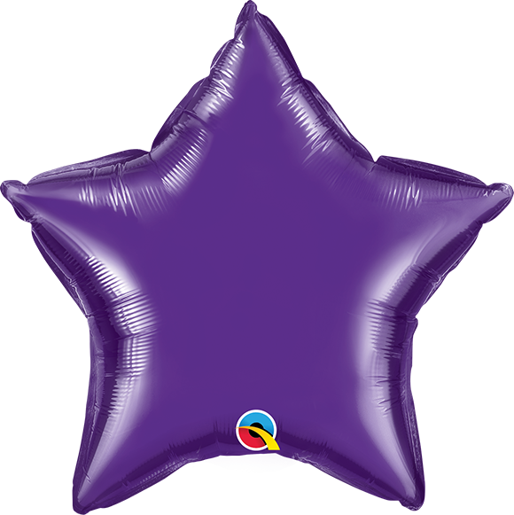 Personalised Foil Balloon - Star Shape