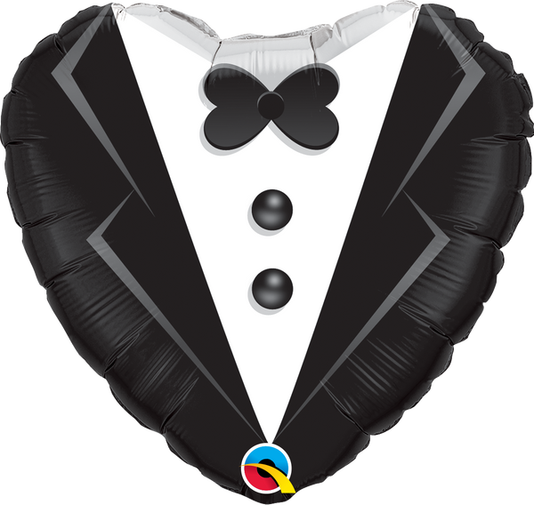Wedding Tuxedo Foil Balloon