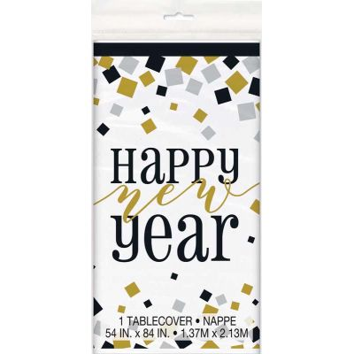 Happy New Year Table Cover