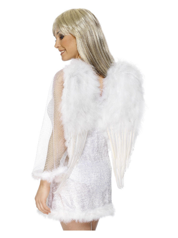 Feather Angel Wings White - Large