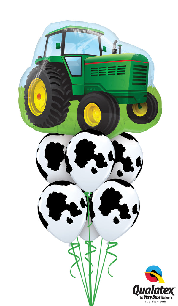 Tractor & Cow Print Combo