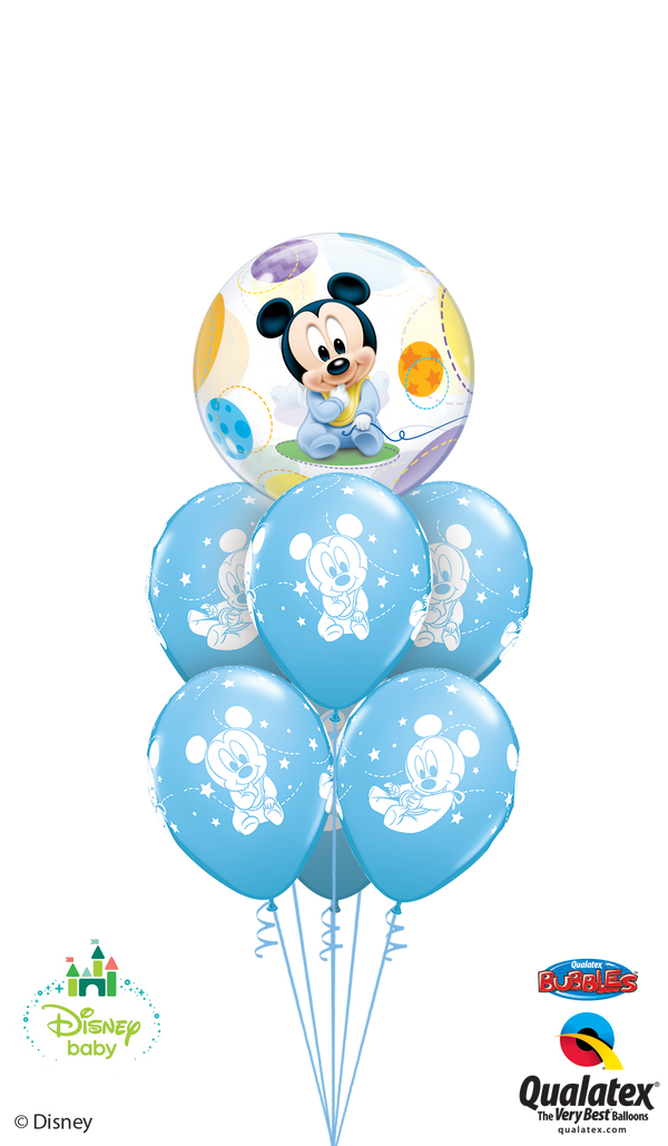 Pale Blue Baby Mickey