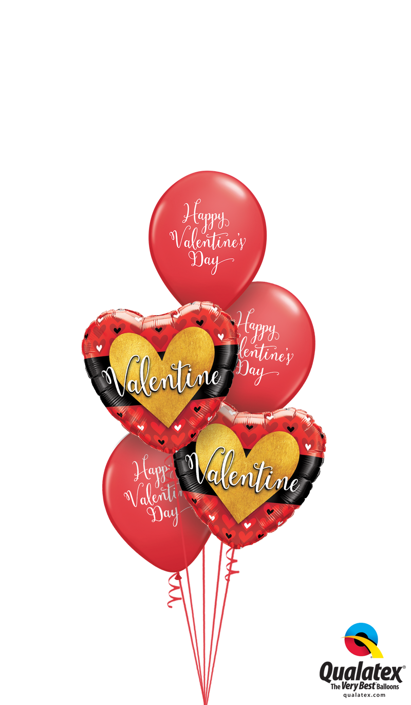 Script Valentines Wishes Bouquet