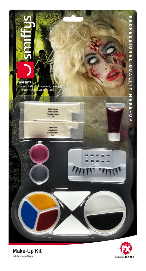 Zombie Fairy Tale Make Up Kit, Aqua