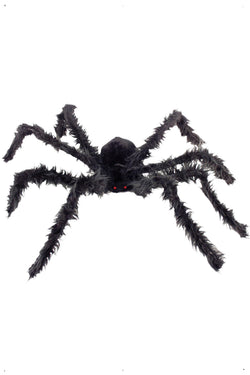 Giant Hairy Spider with Light Up Eyes