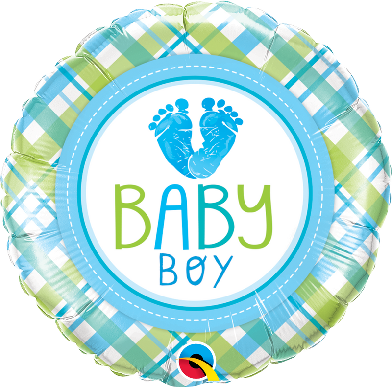 Baby Boy Love Foil Balloon
