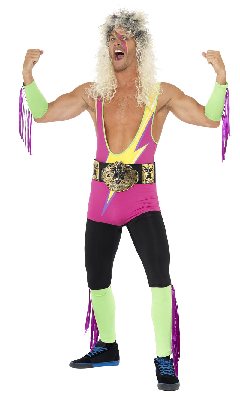 Retro Wrestler Costume