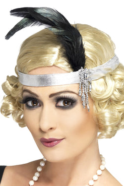 Satin Charleston Headband
