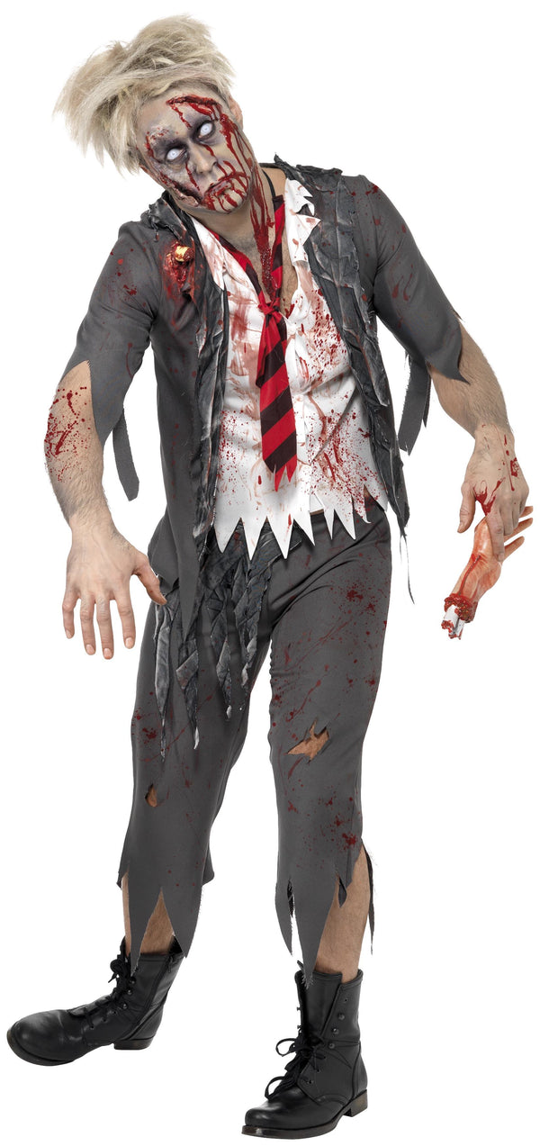 Zombie School Boy Costume - Halloween