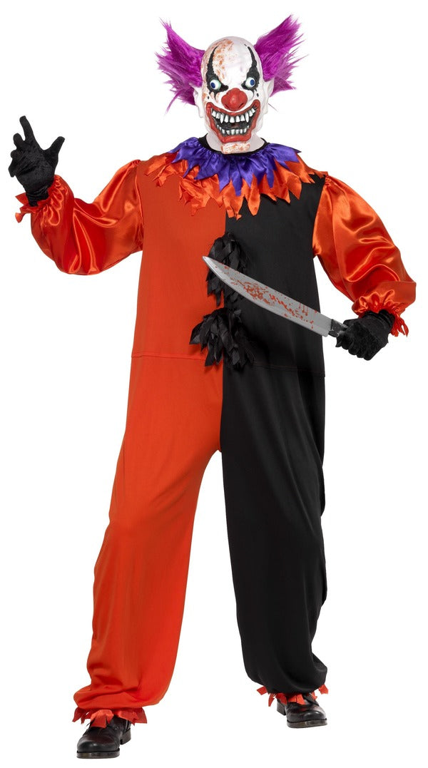 Bo Bo Clown Costume - Halloween