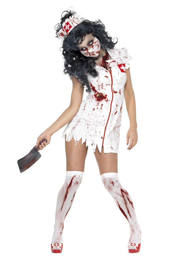 Zombie Nurse Costume - Halloween