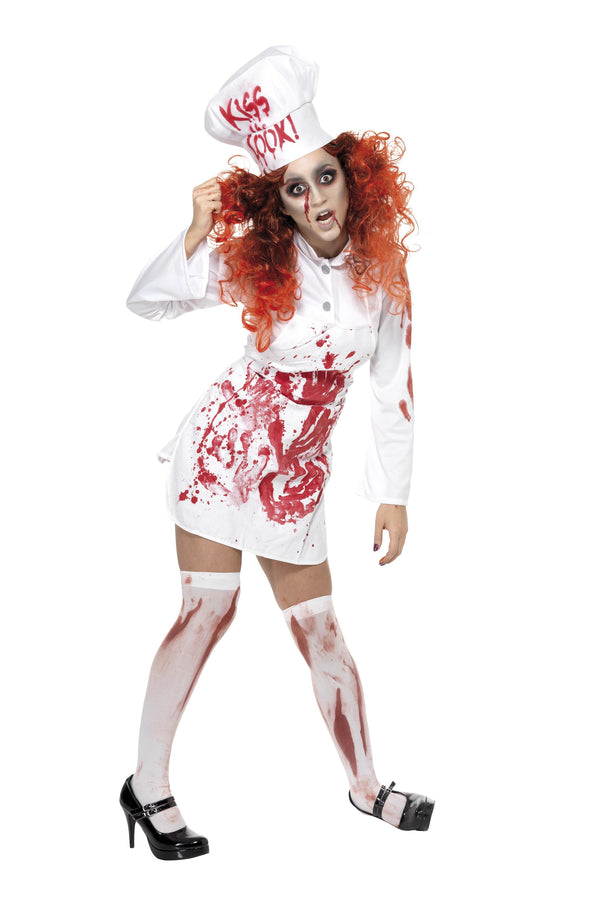 Hell's Kitchen Bloody Chef Costume - Halloween