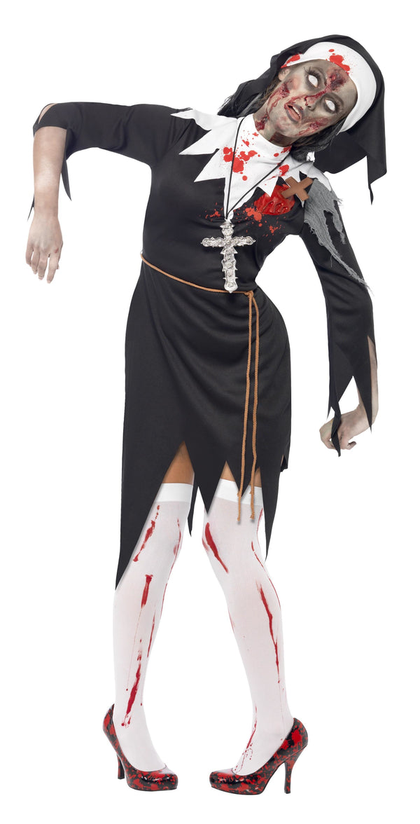 Zombie Bloody Sister Mary Costume - Halloween