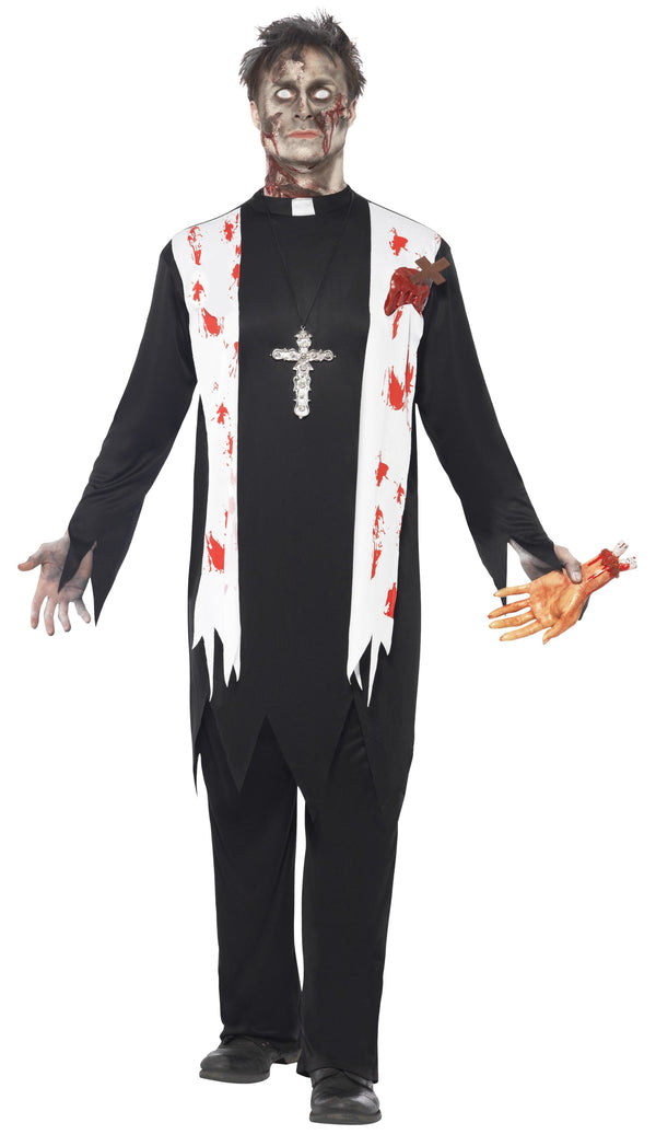 Zombie Priest Costume - Halloween